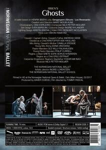 Ghosts. Balletto in 3 atti sul dramma Spettri di Ibsen (DVD) - DVD - 2