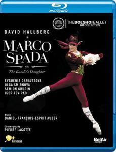 Daniel François Esprit Auber. Marco Spada - Blu-ray