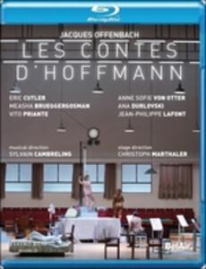 Jacques Offenbach. Les Contes d'Hoffmann. I racconti di Hoffman di Christoph Marthaler - Blu-ray