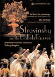 Igor Stravinsky. Stravinsky and the Ballets Russes - Blu-ray