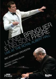 Lionel Bringuier & Nelson Freire. Live at the Royal Albert Hall - Blu-ray