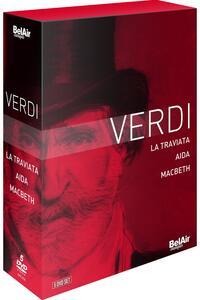 Verdi: Aida, Traviata & Macbeth (5 DVD)