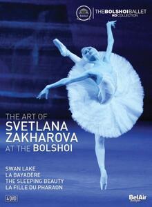 The Art of Svetlana Zakharova at The Bolshoi (4 DVD) - DVD