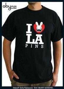 T-Shirt Basic Lapins Cretins. Love Lapin - 2