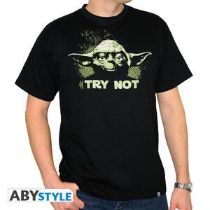 T-Shirt Star Wars Yoda Try