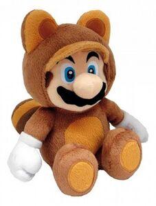 Giocattolo Nintendo Tanooki Mario peluche Njoy