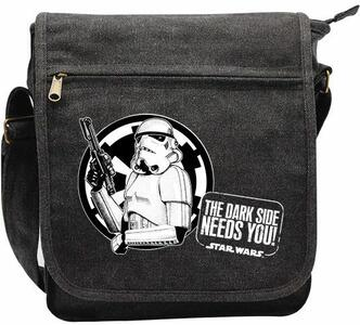 Borsa Messenger Star Wars. Troopers. Small Size with Hook