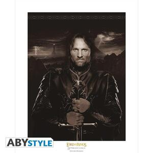 Lord of the Ringss Collector Artprint. Aragorn - 2