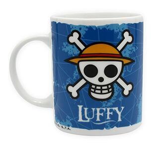 Tazza in Porcellana One Piece. Luffy & Emblem. Con Scatola - 2