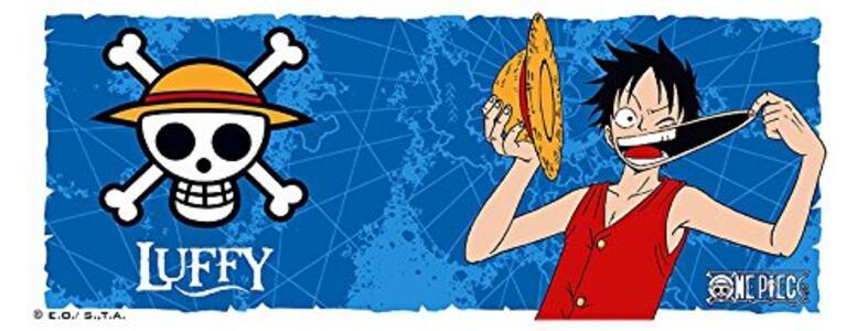 Tazza in Porcellana One Piece. Luffy & Emblem. Con Scatola - 3