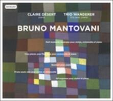Otto Momenti Musicali per Violino, Violoncello e Pianoforte (Digipack) - CD Audio di Bruno Mantovani