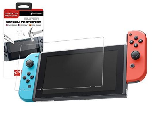 Subsonic Protezione dello Schermo di Vetro Temperato Nintendo Switch