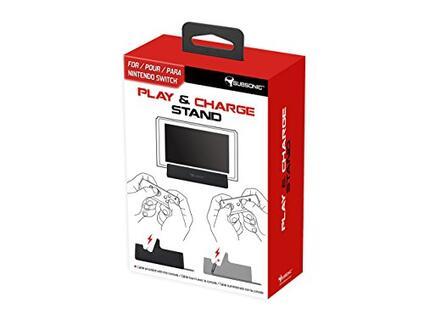 Play & Charge Stand for Nintendo Switch [Edizione: Regno Unito]