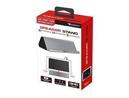Support audio avec enceinte pour Nintendo Switch – Puissance 2 x 3W [Edizione: Francia]