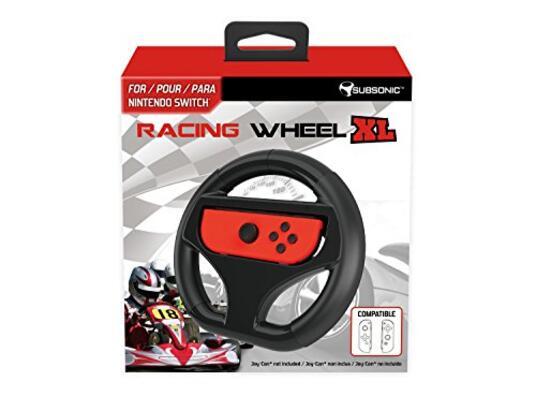 "Subsonic Volant ""Racing Wheel"" Taglia XL pour Nintendo Switch [Edizione: Francia]"