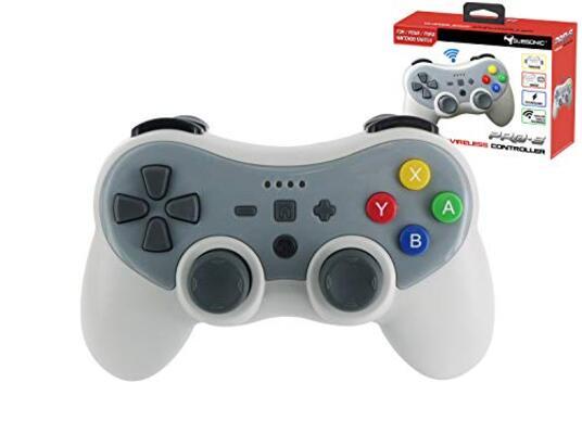 Subsonic Wireless Bluetooth Controller per Console, Grigio Nintendo Switch
