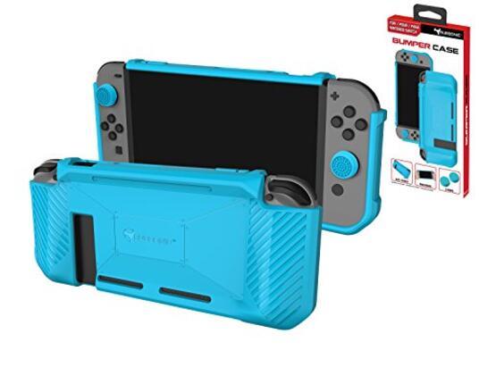 Subsonic Custodia protettiva Premium Custodia in TPU antiscivolo e antiurto Custodia appositamente progettata per il Nintendo Switch con maniglie e impugnature in silicone per joystick Joy-Con.