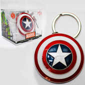 Idee regalo Portachiavi Marvel. Scudo Capitan America Semic Distribution