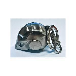 Semic Porte-Cles Iron Man Casque Chrome