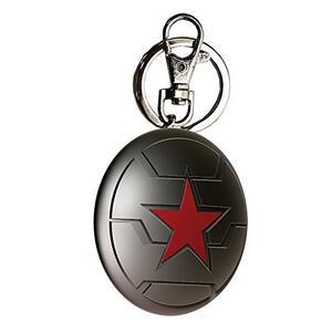 Winter Soldier Keychain