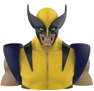 Semic Marvel Comics Wolverine Bust Coin Bank Salvadanio