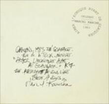 Aimer L'eunuque Avant De Glauquer - CD Audio di Marcel Kanche