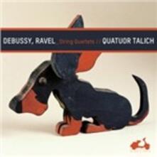 Quartetti per archi - CD Audio di Claude Debussy,Maurice Ravel