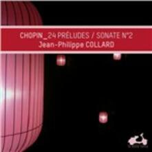 Preludi - Sonata per pianoforte n.2 - CD Audio di Fryderyk Franciszek Chopin,Jean-Philippe Collard