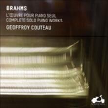 Opere per pianoforte (Integrale) - CD Audio di Johannes Brahms