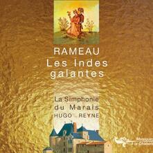 Les Indes Galantes - CD Audio di Jean-Philippe Rameau