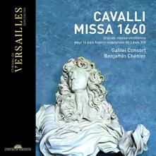 Missa 1660. Grande messa veneziana - CD Audio di Francesco Cavalli