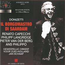 Il Borgomastro di Saardam - CD Audio di Gaetano Donizetti
