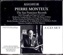 San Francisco Recordings - CD Audio di Pierre Monteux