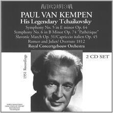 His Legendary Tchaikovsky - CD Audio di Pyotr Ilyich Tchaikovsky,Paul Van Kempen