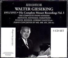 Piano Works Vol.1 - CD Audio di Wolfgang Amadeus Mozart