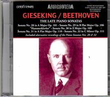 Late Piano Sonatas - CD Audio di Ludwig van Beethoven,Walter Gieseking