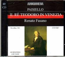 Il Re Teodoro in Venezia - CD Audio di Giovanni Paisiello