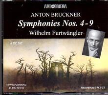 Symphonies No.4-9 - CD Audio di Anton Bruckner