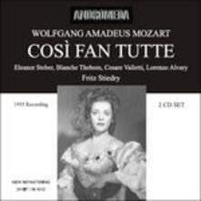 Cosi Fan Tutte - CD Audio di Wolfgang Amadeus Mozart