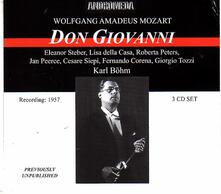 Don Giovanni - CD Audio di Wolfgang Amadeus Mozart