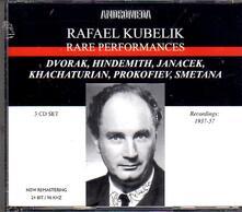 Rare Performances - CD Audio di Rafael Kubelik