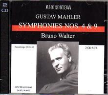Sinfonie N.4, N.9 - CD Audio di Gustav Mahler