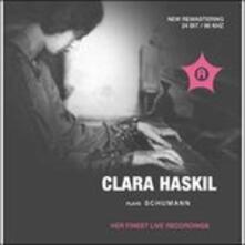 Plays Schumann - CD Audio di Robert Schumann,Clara Haskil