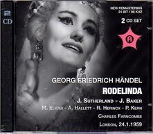 Rodelinda - CD Audio di Georg Friedrich Händel