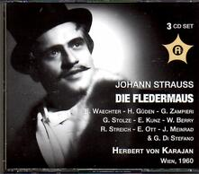 Die Fledermaus - CD Audio di Johann Strauss
