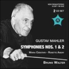 Sinfonie N.1, N.2 - CD Audio di Gustav Mahler
