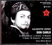 Don Carlo - CD Audio di Giuseppe Verdi