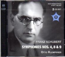 Sinfonie N.4, N.8, N.9 - CD Audio di Franz Schubert