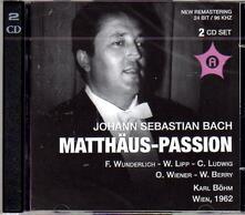 Matthaus-Passion - CD Audio di Johann Sebastian Bach