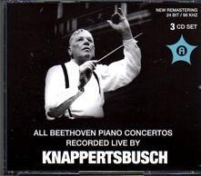 Piano Concertos 3-5 - CD Audio di Ludwig van Beethoven